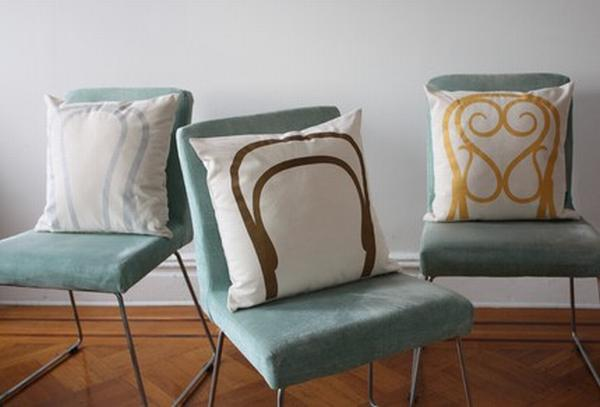 Pillows With Unusual Printings for Chair Upgraders
