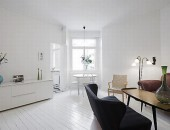 clean white small apartment interior design 1 554x368 170x130 Small but Cute&Comfy Apartment from One of Our Readers