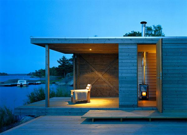 cottage style design 7 Private Summer House in Sweden