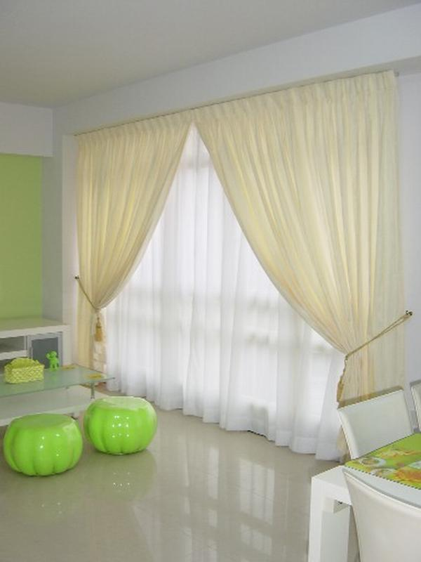 Bedroom Curtains and Blinds for Interior Decorating Photos