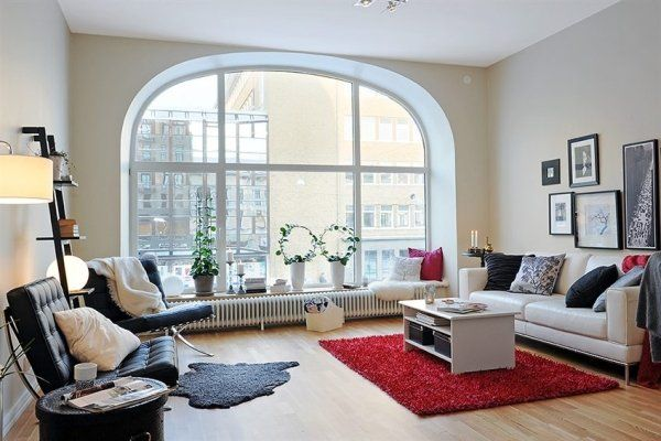 interior design apartment13 Fancy and Youthful Apartment in Sweden