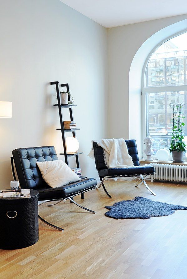 interior design apartment2 Fancy and Youthful Apartment in Sweden