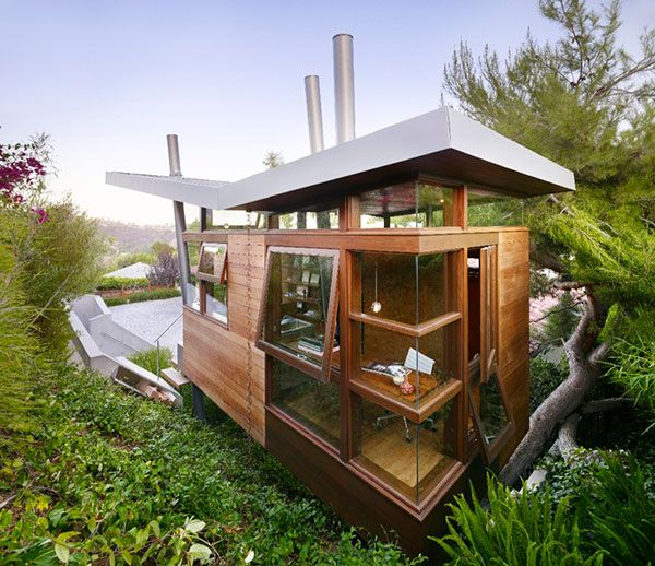 luxury tree house rpa 1 Tree House overlooking L.A., a Luxurious Place of Retreat