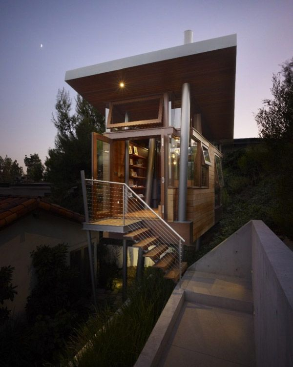 luxury tree house rpa 3 Tree House overlooking L.A., a Luxurious Place of Retreat