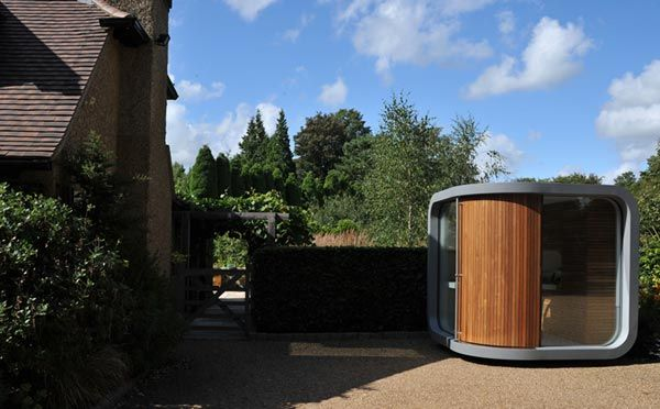 prefab home office Small Home Office in Your Backyard : OfficePOD