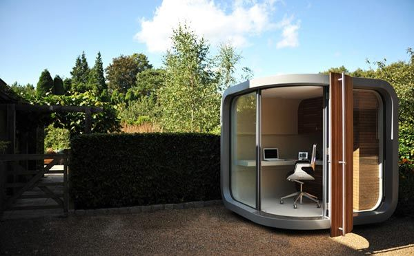 prefab home office2 Small Home Office in Your Backyard : OfficePOD