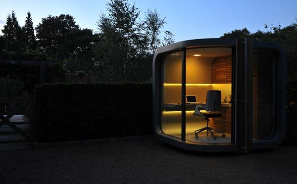 prefab home office5 Small Home Office in Your Backyard : OfficePOD