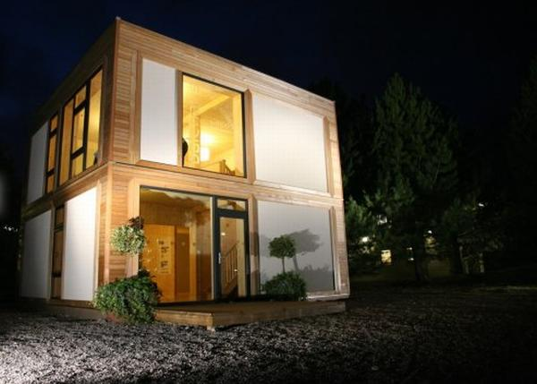 Prefabricated Panels from ModCell, an Alternative Building System