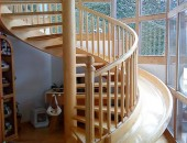 staircaseslide 170x130 Magnificent Childhood Inspired Residence: the Slide by LEVEL Architects