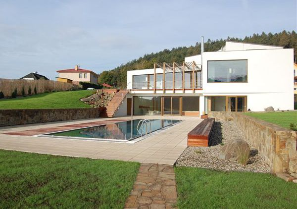 three level house plans luxury valley home 6 Beautiful Countreyside Home in The Czech Republic