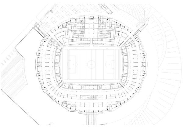 1261499731 1972 floorplan level00 a1 m500 72dpi Greenpoint Stadium   to House South Africa World Cup in 2010