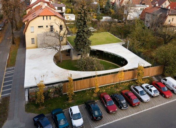 337117551 a69 eggo r0041 low Egg House, A Fantastic Circular   Residence in Prague