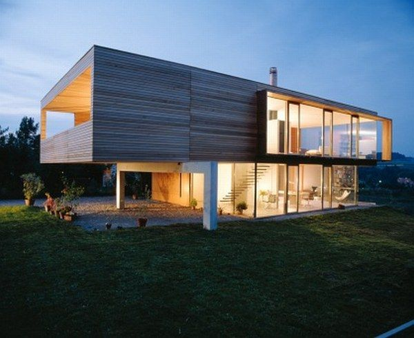 4 Wood Box With View Residence from K M Architektur