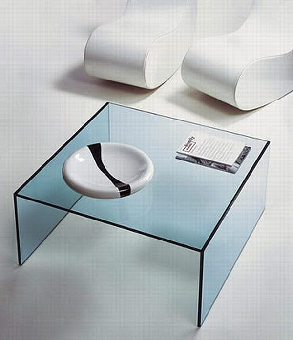 Eden 01 Glass Coffee Tables Collection From Tunelli