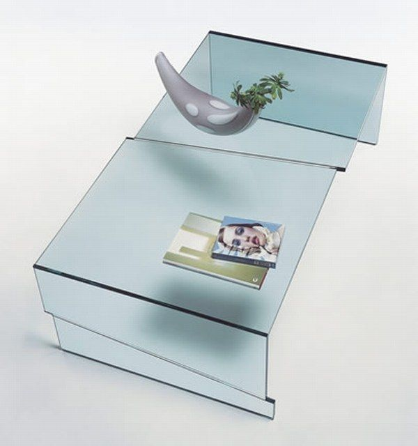 Strappo 01 Glass Coffee Tables Collection From Tunelli