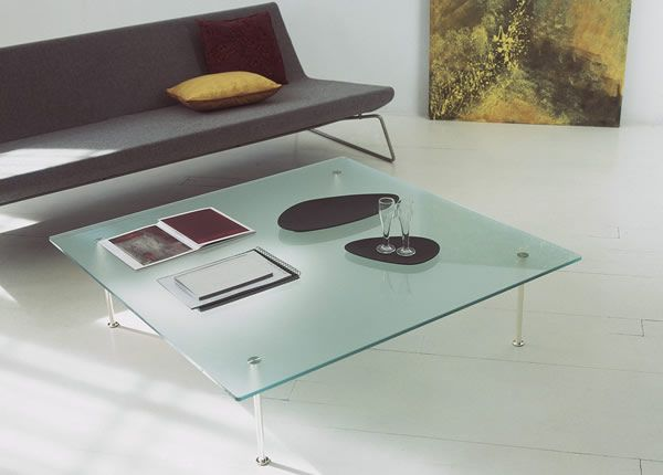 Twig 01 Glass Coffee Tables Collection From Tunelli