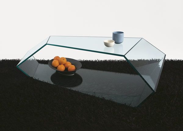 dekone 02 Glass Coffee Tables Collection From Tunelli