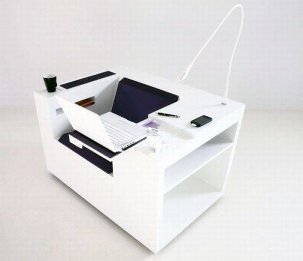 """""""Four Works"""" a Cool Multifunctional Workstation"""
