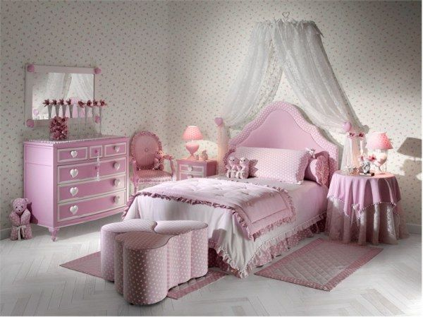 Attractive Girls Bedroom Decorating Ideas