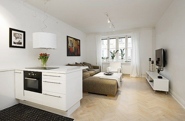Beautiful & Efficient Design in a One Room Apartment ...