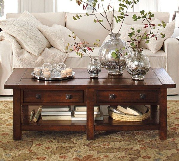 img24l Sofas and Living Rooms Ideas With A Vintage Touch From Pottery Barn