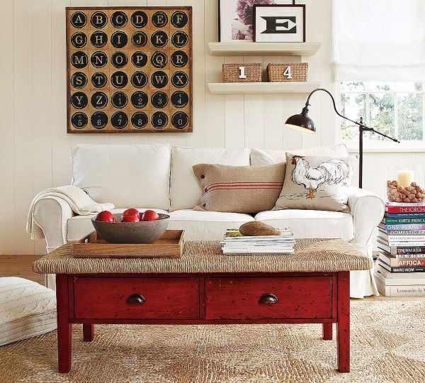 img89l Sofas and Living Rooms Ideas With A Vintage Touch From  Pottery Barn