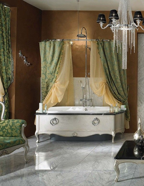 Dramatic, Opulent and Original Bathtubs From Lineatre