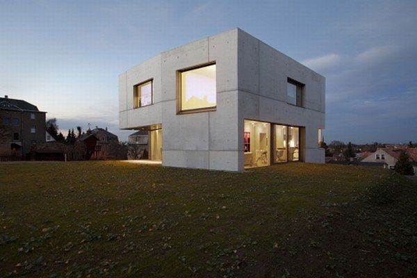 Home house design beautiful concrete house from atelier st for All design maison