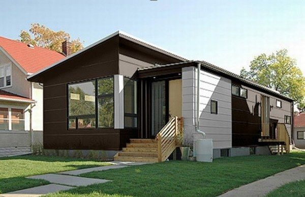 modern small prefab house 3 554x357 Small Contemporary Prefab Home : Easy to Build and Sustainable