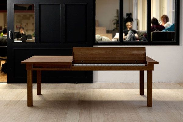 piano table Functionally Designed Piano Table by Georg Bohle