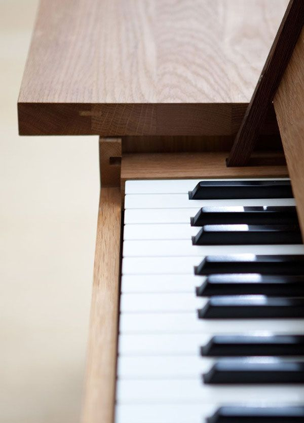 piano table3 Functionally Designed Piano Table by Georg Bohle