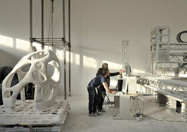 Machine That Prints Buildings, A Stunning Innovation by Enrico Dini
