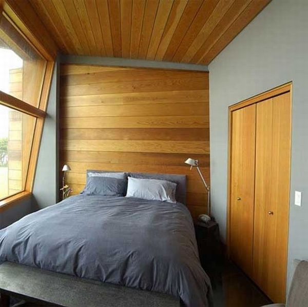 Main bedroom of Wood Home Decoration by Johnston Architects  Contemporary Wooden Retreat by Johnston Architects