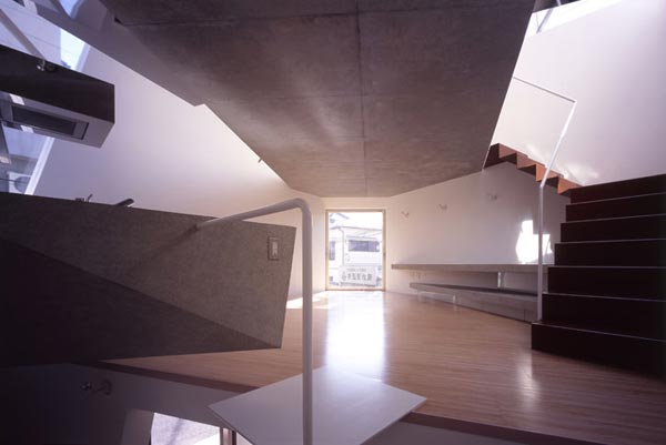 Reflection of Mineral Tokyo 2006 by Atelier tekut6 Amazing Home Breaking Architecture Rules in Tokyos Center