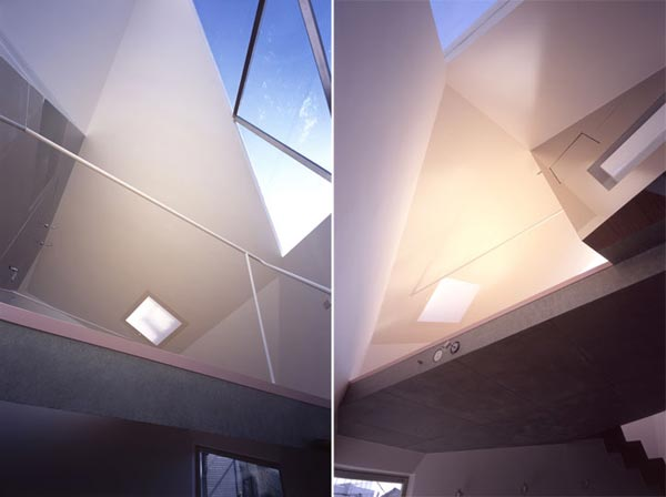 Reflection of Mineral Tokyo 2006 by Atelier tekut9 Amazing Home Breaking Architecture Rules in Tokyos Center