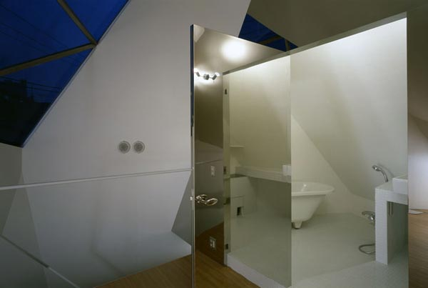 Reflection of Mineral Tokyo 2006 by Atelier tekuto10 Amazing Home Breaking Architecture Rules in Tokyos Center