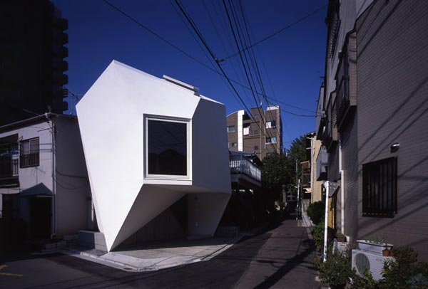 Reflection of Mineral Tokyo 2006 by Atelier tekuto2 Amazing Home Breaking Architecture Rules in Tokyos Center