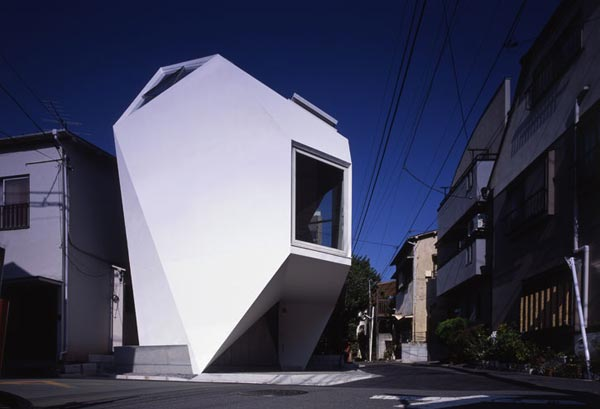 Reflection of Mineral Tokyo 2006 by Atelier tekuto3 Amazing Home Breaking Architecture Rules in Tokyos Center