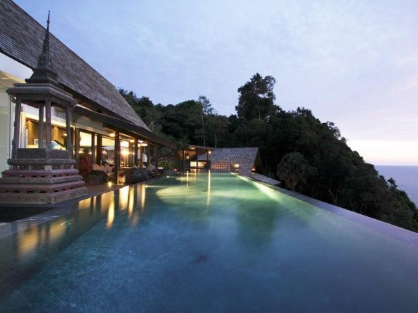 amazing infinity pool thailand This Might Just Be the Best Looking Villa in Thailand