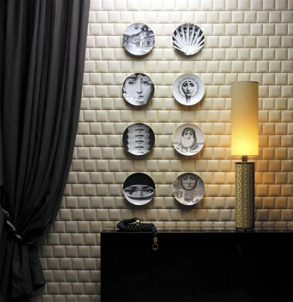 10 Amazing Leather Designs, Good Alternatives to Wallpapers