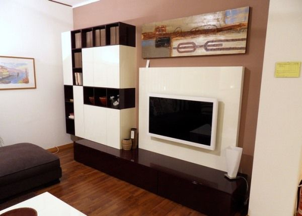 20 Ideas On How To Integrate A Tv In The Living Room