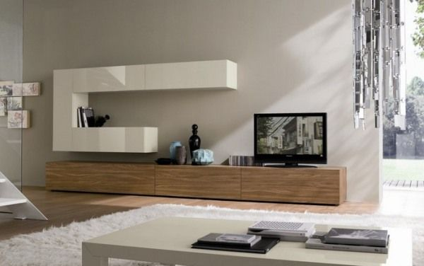 living 123456789012345678 20 Ideas on How to Integrate a TV in the Living Room