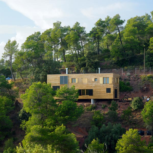 Amazing Wooden Home in Barcelona