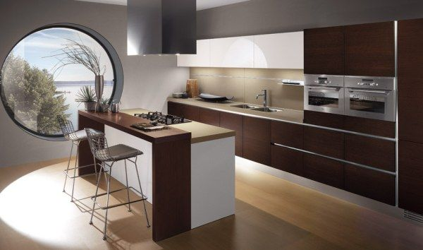 one kitchen Italian Kitchen Designs: Style and Originality