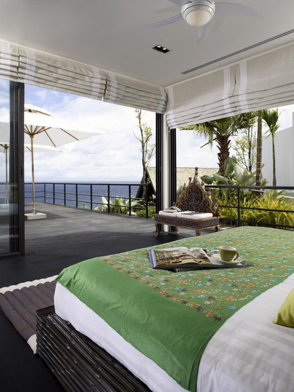 open concept bedrom in thailand This Might Just Be the Best Looking Villa in Thailand