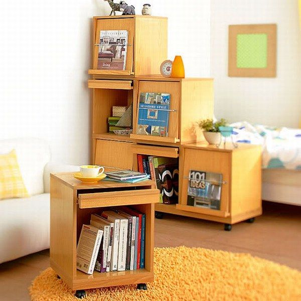 shelving unit1235 17 Cool and Unconventional Shelving Ideas