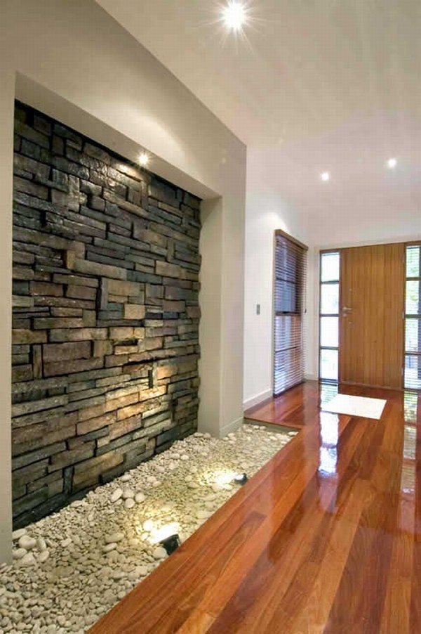 Collect this idea & How Do You Feel About Indoor Stone Walls ? | Freshome.com
