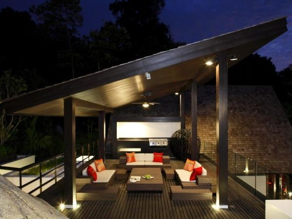 stunning terrace design phuket thailand This Might Just Be the Best Looking Villa in Thailand