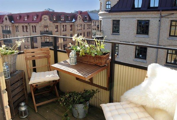 terrace Dream Apartment in Sweden. Ready For Some Great Interior Design?