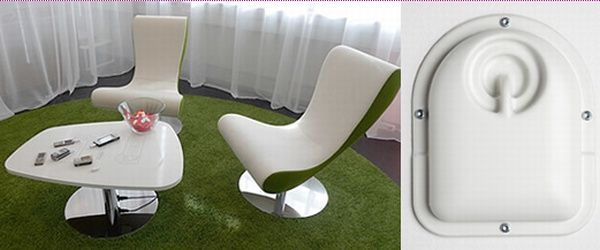 wireless charger2 Wireless Phone Charging Furniture from Powerkiss